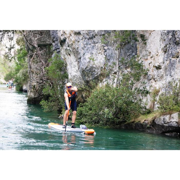 PAGAIE STAND UP PADDLE 500 TUBE CARBON DEMONTABLE REGLABLE 170-210 CM