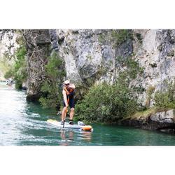 Pala Stand Up Paddle Itiwit 500 Pértiga De Carbono Ajustable 170-210 CM