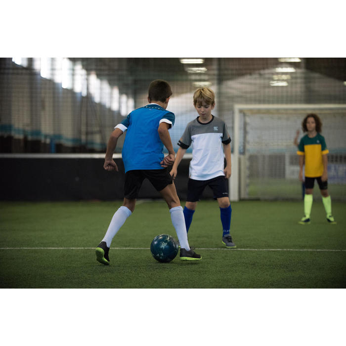 Fußballtrikot Kinder FF100 Deutschland weiß