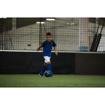 Fussballshirt FF100 Frankreich Kinder blau