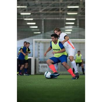 Fußballtrikot F500 Erwachsene weiß