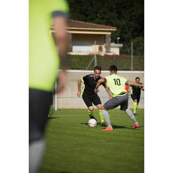 Chaussure de football adulte terrains secs CLR900 FG orange bleue - 1284221