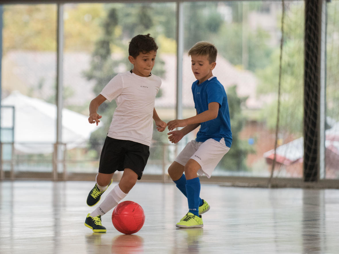 兒童款足球用具