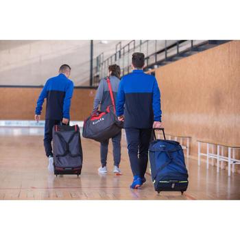 Trolley sporttas teamsport Classic 70 liter blauw/groen - 1284277