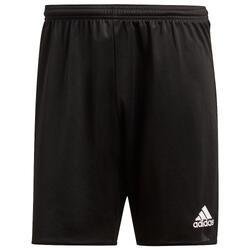 Pantalón corto de entrenamiento de fútbol Parma adulto negro