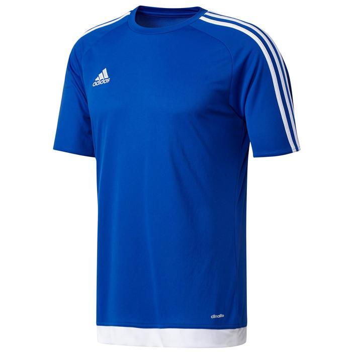 Maillot de football adulte Estro 15 bleu
