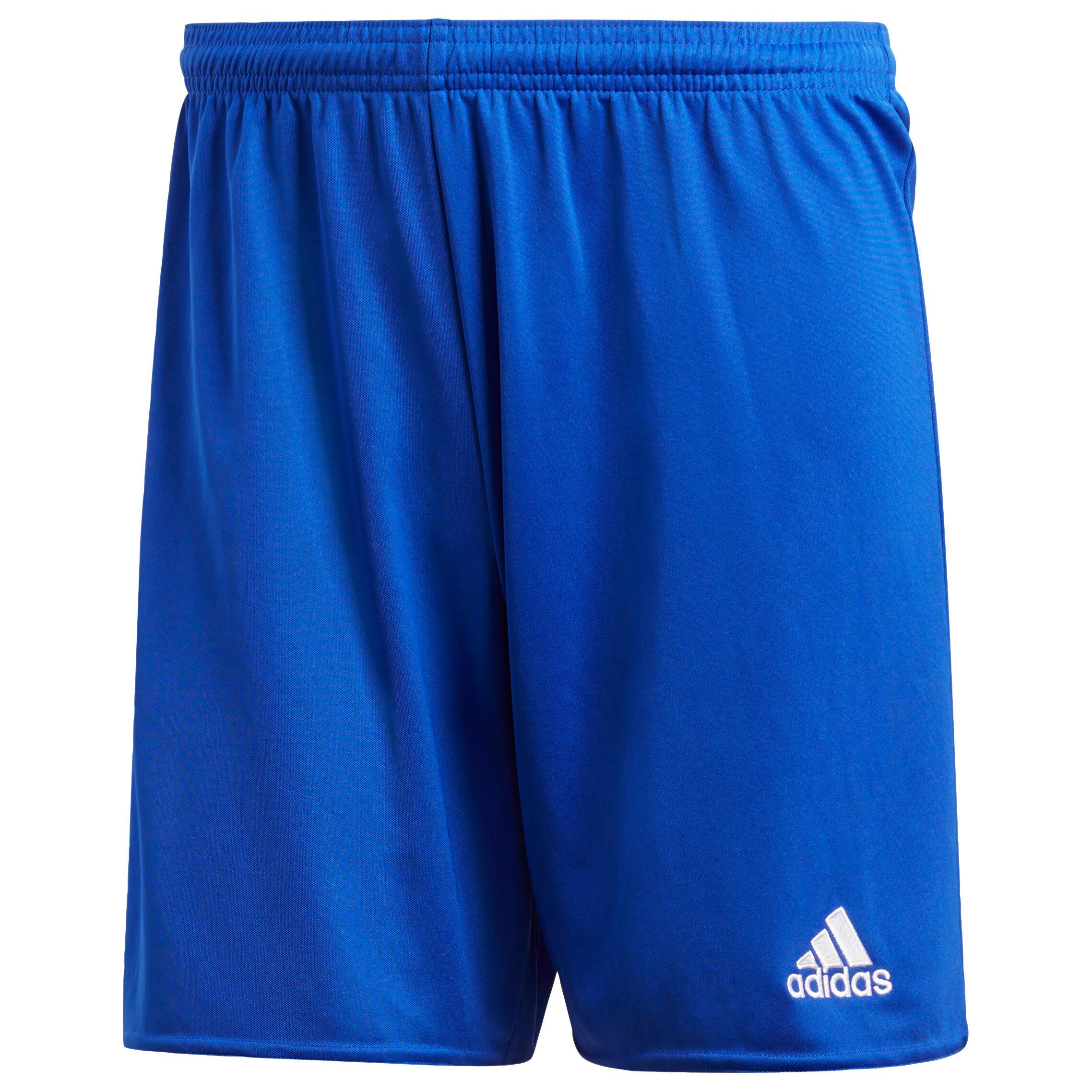 Adidas Voetbaltrainingsshort volwassenen Parma blauw