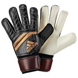 Keepershandschoenen Ace Replique voor kinderen, voetbal, zwart