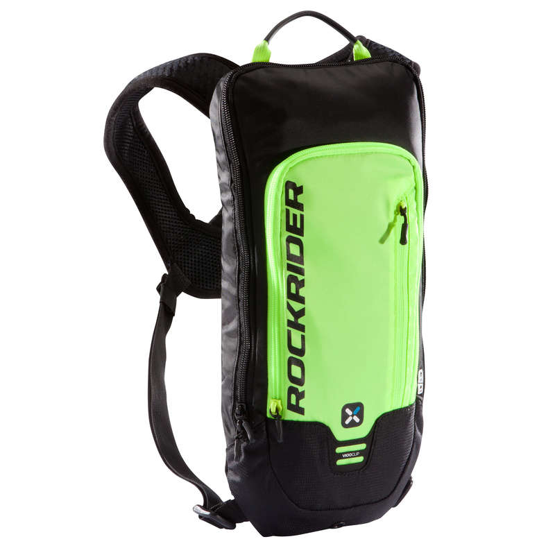 SPORT TRAIL MTB WATER BAG ADULT Bags - ST500 Hydration Pack, Yellow - 3L ROCKRIDER - Bags