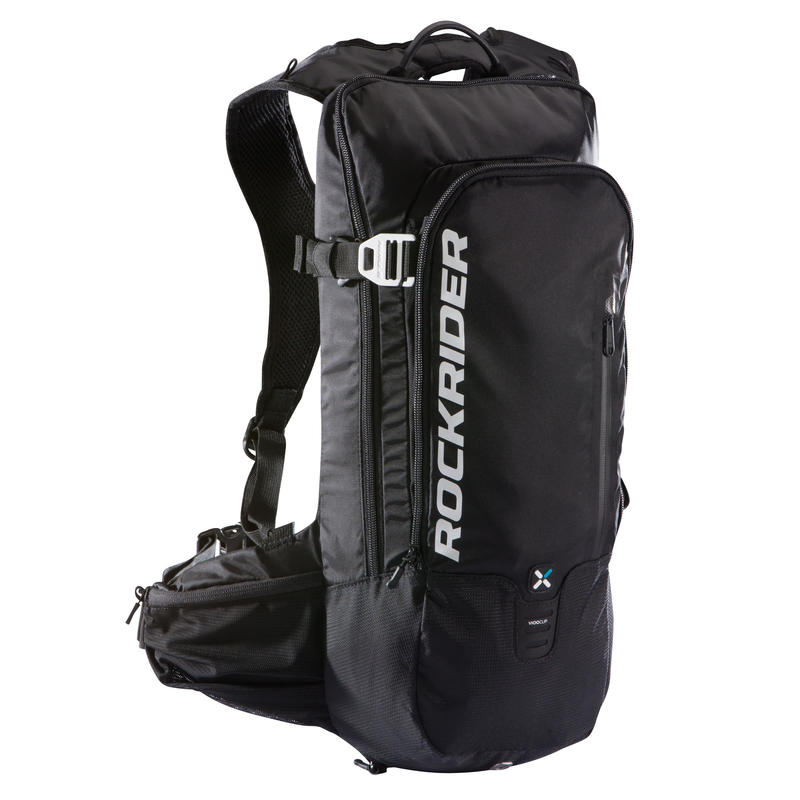 12L Mountain Biking Hydration Backpack ST 900 - Black