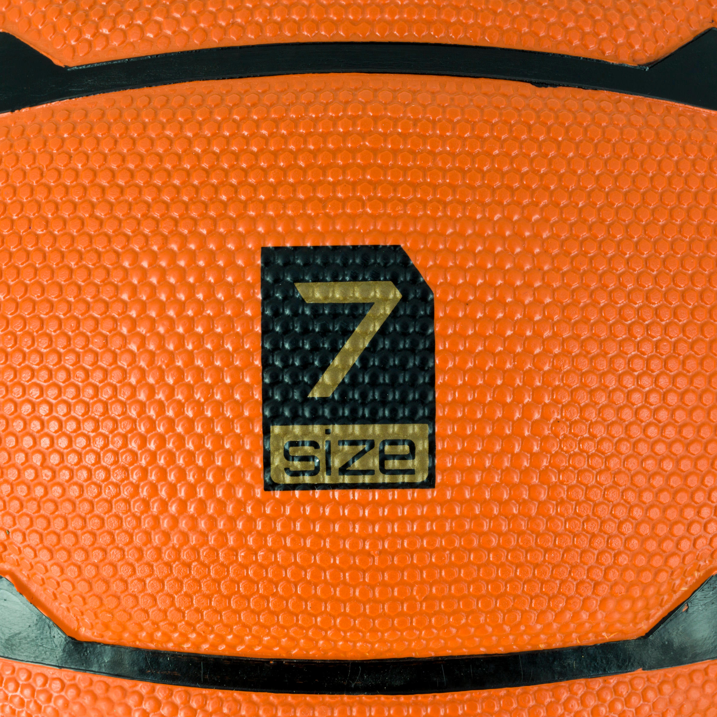 Ballon de basketball adulte B300 taille 7 orange