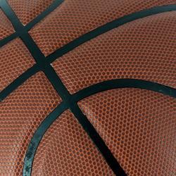 Basketball B500 Größe6 braun Kunstleder