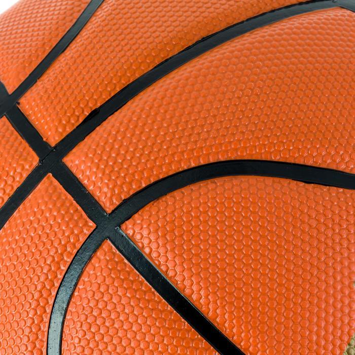Ballon de basket homme B300 taille 7 orange. Pour débuter. A partir de 12 ans. - 1284424
