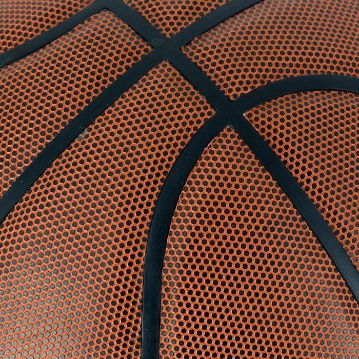Ballon de basket homme B700 taille 7 marron. Homologué FIBA. Après 12 ans. - 1284430