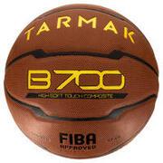 Košarkaška žoga B700, velikost 7 - rjava Žogo je odobrila FIBA. Od 12. leta.