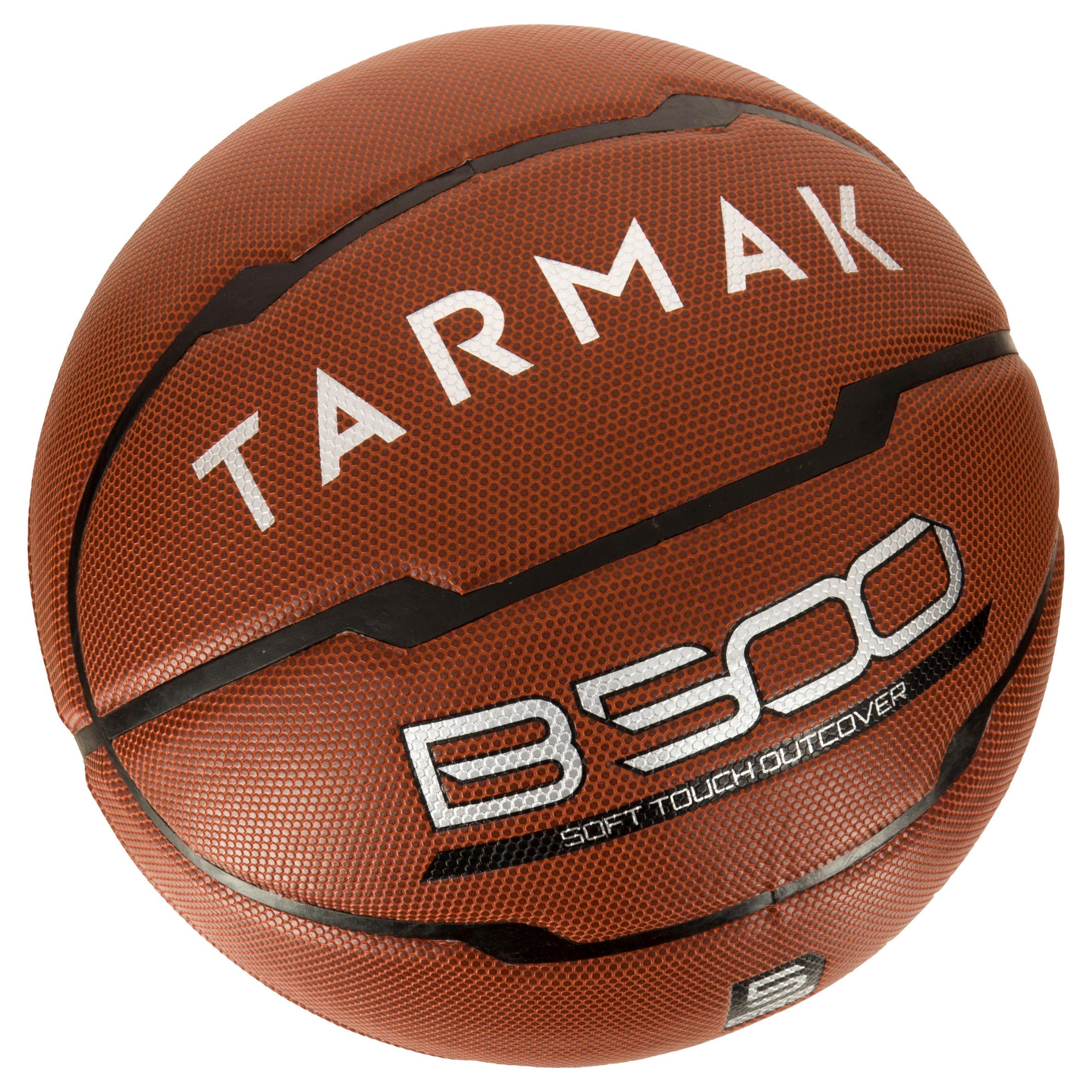 Ballon de basketball enfant B500 taille 5 marron
