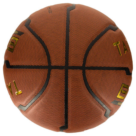 B700 Size 7 Basketball - Brown. FIBA approved. From age 12.