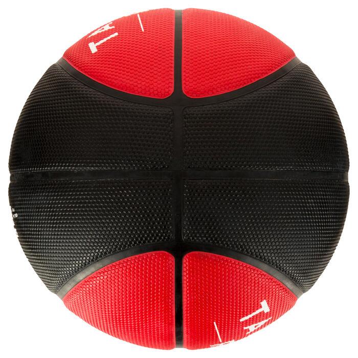 Ballon de basket homme R300 taille 7 noir. Résistant. A partir de 14 ans. - 1284453