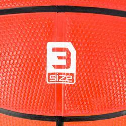 Balón baloncesto niños R300 talla 3 naranjaPara el baby basket hasta 6 años