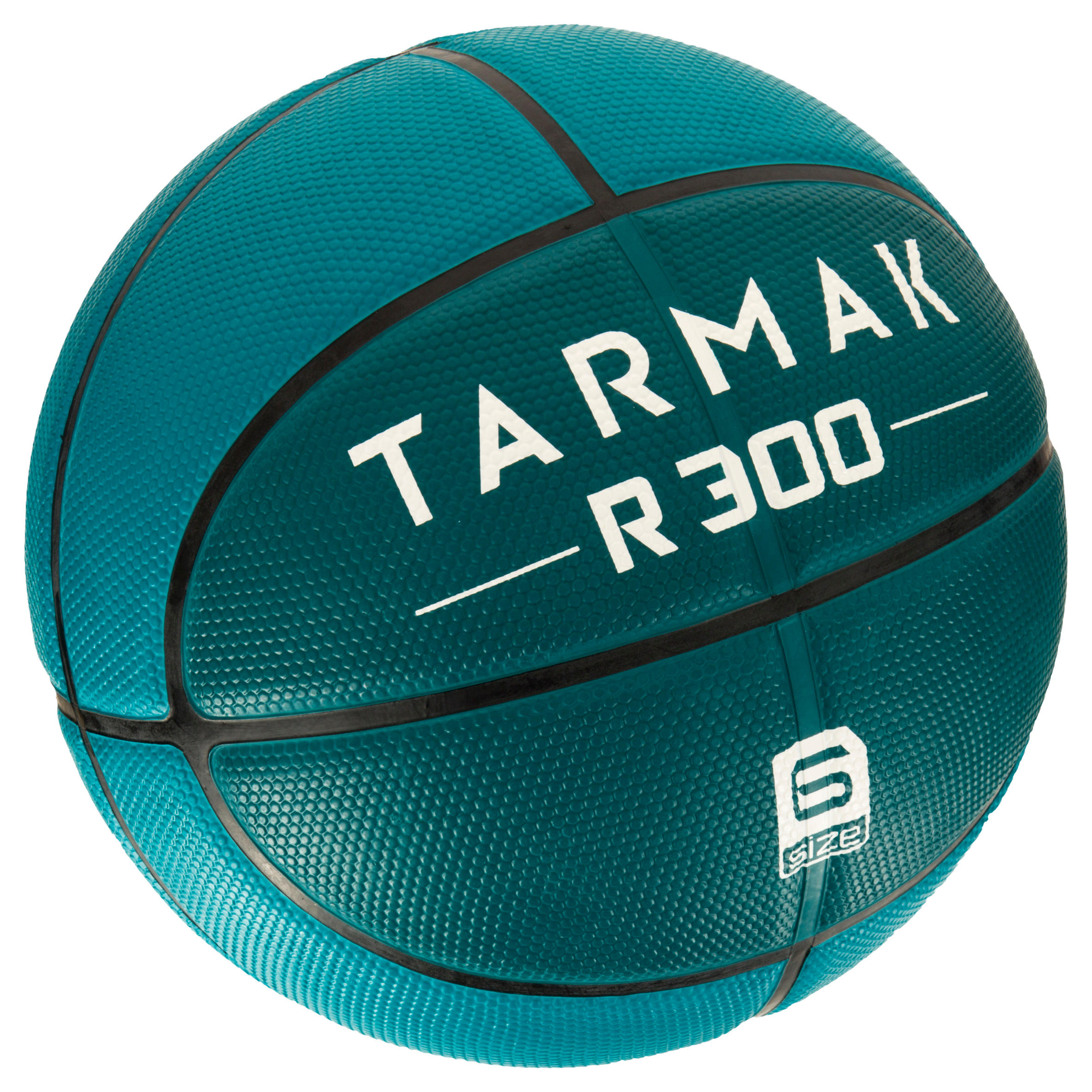 R300 Size 6 Basketball - Green. Durable.