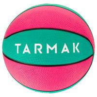 Mini ballon de basketball enfant Mini B taille 1. Jusqu'à 4 ans.Rouge/bleu