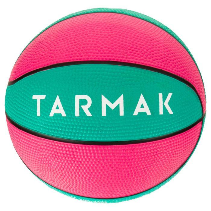 Mini ballon de basketball enfant Mini B taille 1. Jusqu'à 4 ans. - 1284484