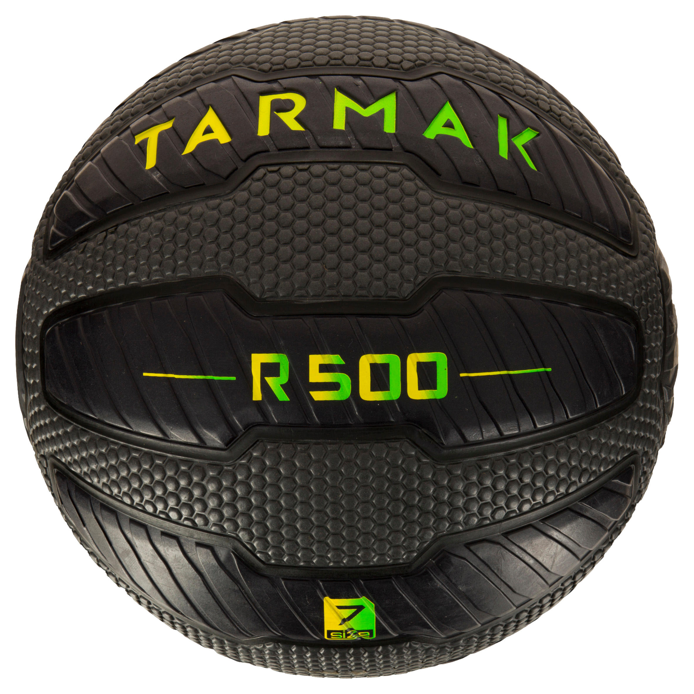 Balón de basquetbol adulto Tarmak 500 Magic Jam talla 7 negro