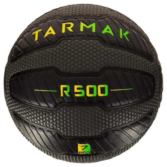 Ballon de basket adulte R500 taille 7. Increvable et ultra agrippant. - 1284492