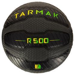 Basketbal R500 maat 7 volwassenen zwart. Kan niet lek, biedt een perfecte grip.