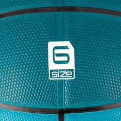 Basketball R300 Größe6 grün robust