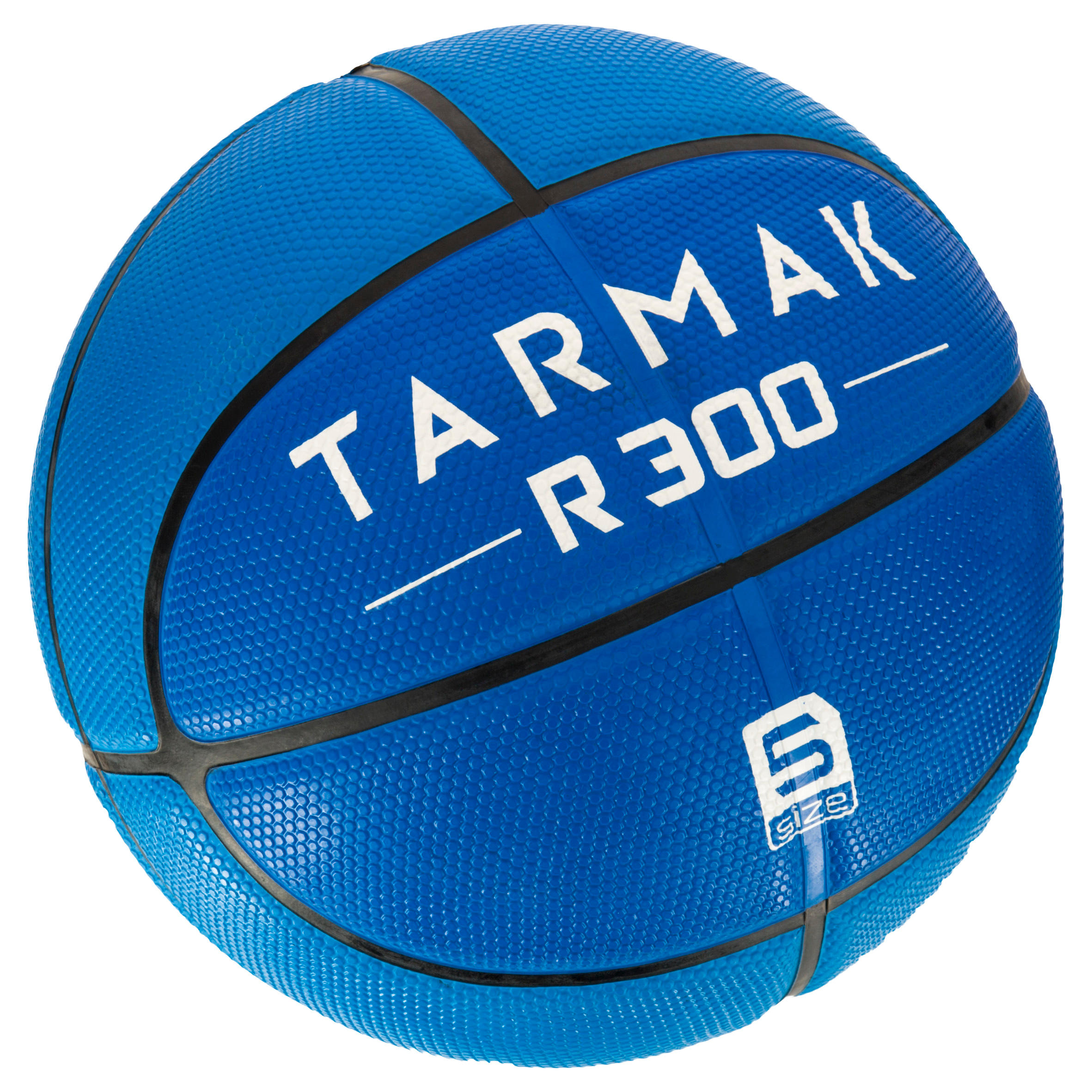 R300 Kids' Size 5 Basketball - Blue Durable.