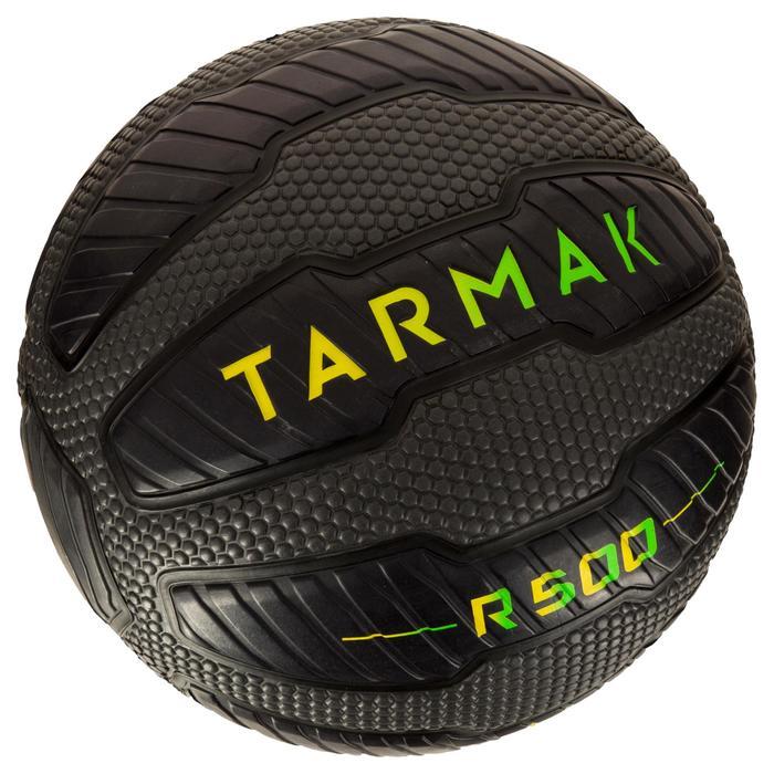 Ballon de basket adulte R500 taille 7. Increvable et ultra agrippant. - 1284505