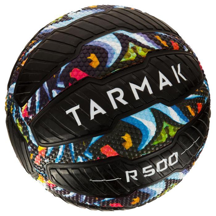 Balón de baloncesto adulto R500 talla 7 graffiti. Antipinchazos y muy adherente