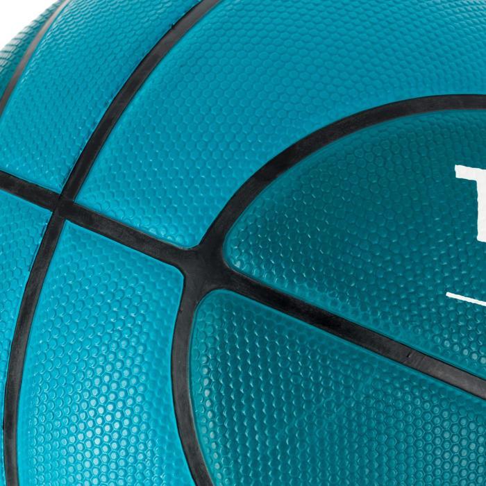 Balón de baloncesto R300 talla 6 verde. Resistente.