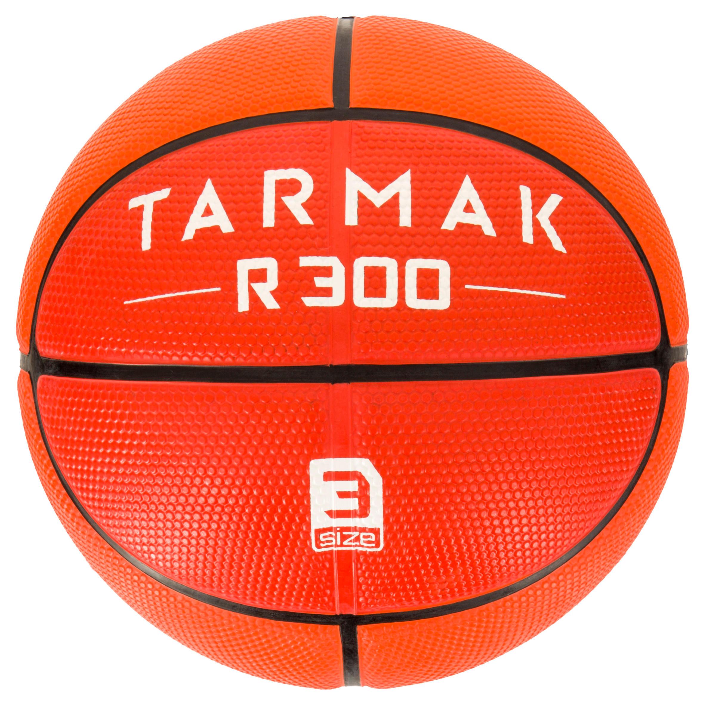 Tarmak Basketbal R300 maat 3 voor kinderen oranje. voor basketspelertjes jonger dan 6.