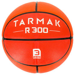 R300 Kids' Size 3 Basketball - Orange for Children up to 6 Years