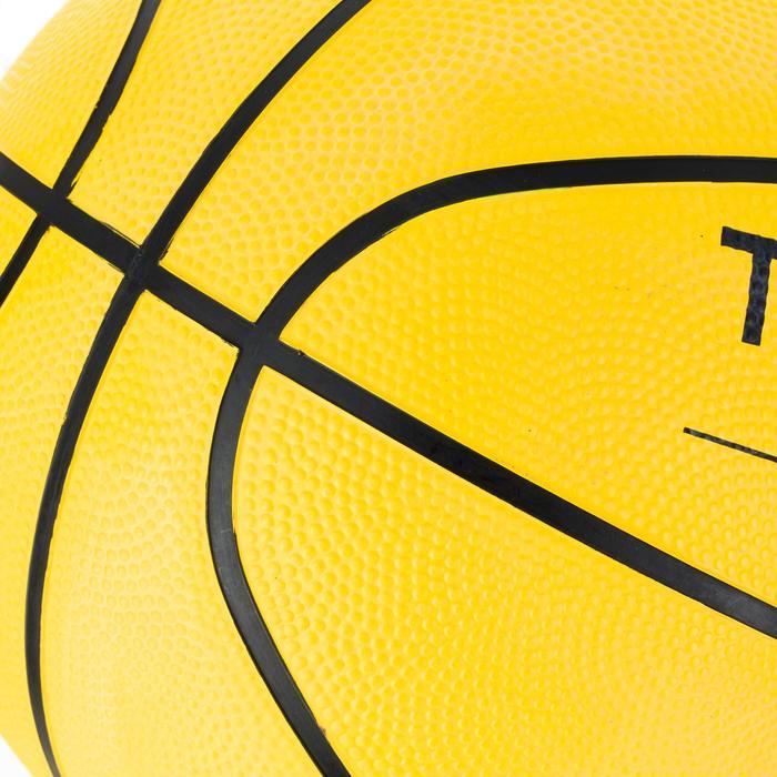 Basketball R100 Größe 5 und 7 Kinder/Erwachsene gelb