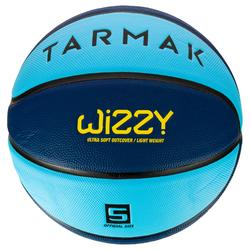 Wizzy Kids' Size 5 Basketball - BlueLighter.