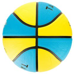 Wizzy Size 3 Basketball for Kids aged 4 to 6 - Blue/Yellow