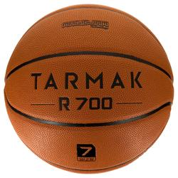 Basketball R700 Deluxe Größe7 Herren orange super Ballgefühl