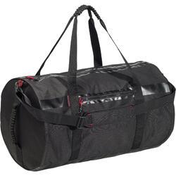 Bolsa de deporte gimnasio petate Cardio Fitness Domyos 55 litros negro