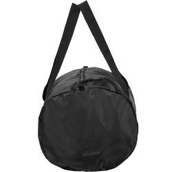Bolsa fitness cardio-training plegable 30 L negro