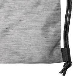Schuhtasche Fitness faltbar grau/schwarz
