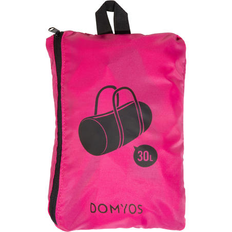 Maleta fitness plegable 30 l Domyos