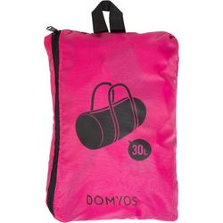 Sac fitness cardio-training pliable 30L rose