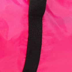 Bolsa fitness cardio-training plegable 30 L rosa