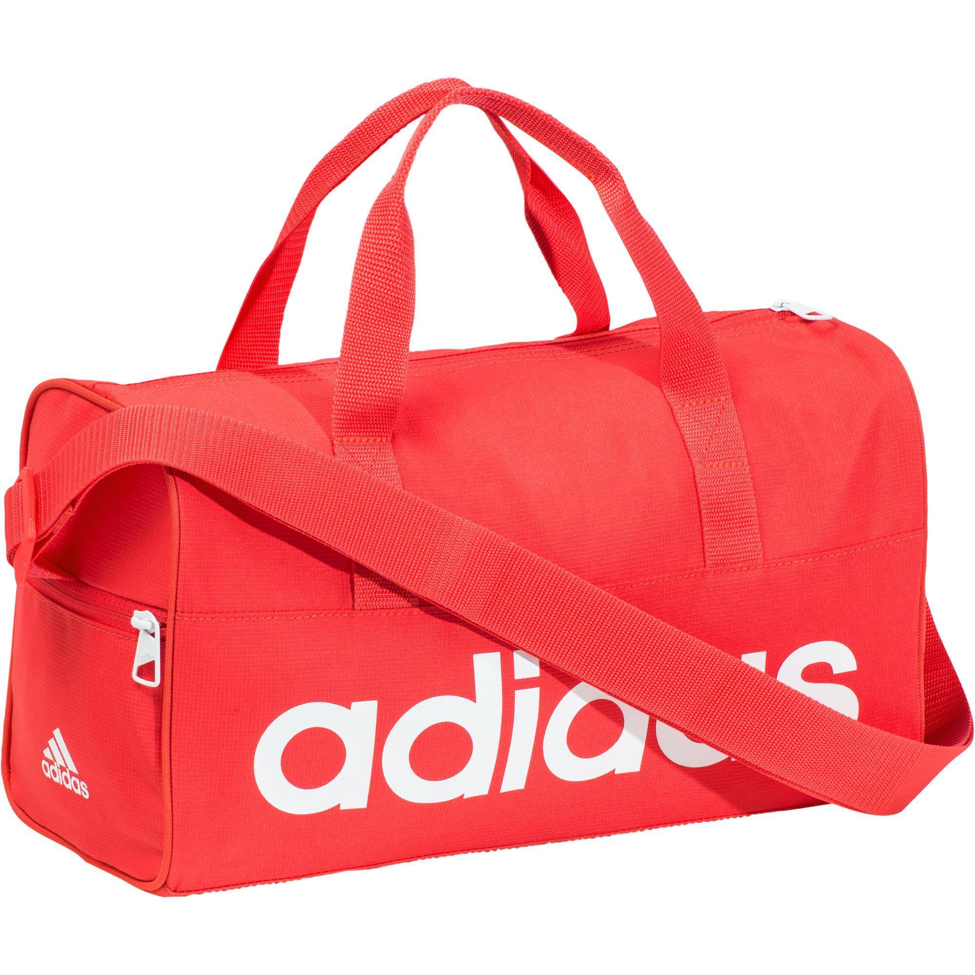 Adidas Fitnesstas Adidas voor kinderen roze en wit