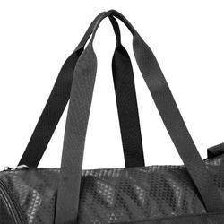 Sporttasche Fitness Cardio 20l schwarz bedruckt