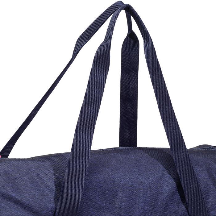 Fitnesstas cardiotraining 20 liter blauw en zwart