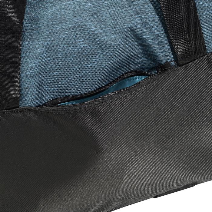 Sporttas fitness 30 liter, petrolblauw/zwart